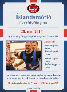 ÍM 2016 plakat